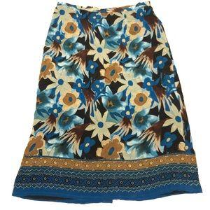 NWT skirt 20w 100% silk style & co.